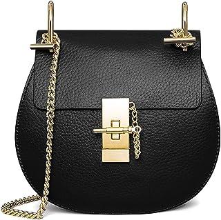 e3ef012424 Macton MC-5001, Sac bandoulière pour femme Noir noir 25 cm