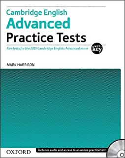 Cambridge English: Advanced Practice Tests: Cambridge English Advanced Practice Test with Key Exam Pack 3rd Edition (Cambridge Advanced English (CAE) Practice Tests)