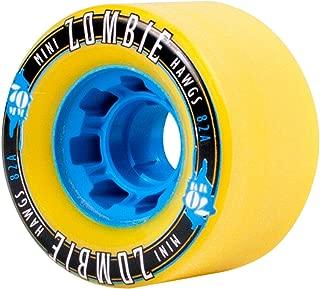 Hawgs Landyachtz MINI Zombie Longboard Wheels 70mm 82a Yellow