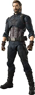 S. H. Figuarts Avengers Captain America (Avengers/Infinity War) Approximately 155 mm PVC · ABS painted movable figure Japan Import