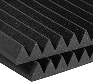 Auralex Acoustics Studiofoam Wedges Acoustic Absorption Foam, 2