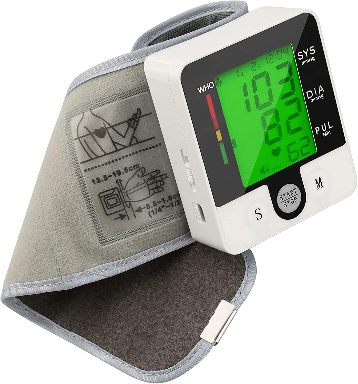 Translated Wrist Blood Pressure Monitor Heart Award Automatic Rate