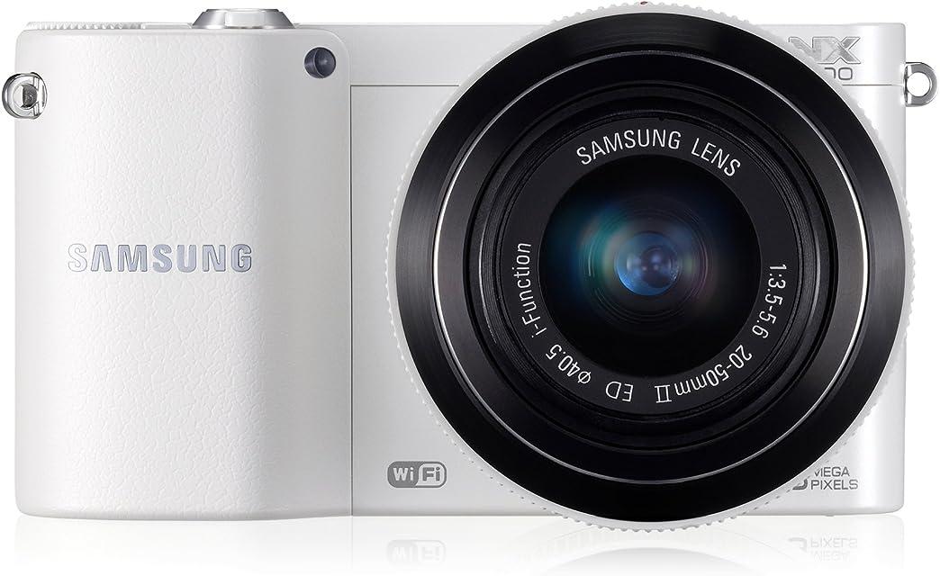 Samsung NX 1000 + 20-50 mm - Cámara Evil Digital (20.3 MP MILC CMOS 20-50 mm 3.5 3.6) (Importado)