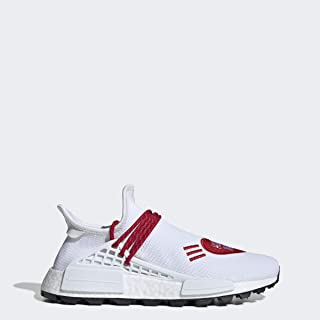 adidas Pharrell Williams Hu NMD Human Made Shoes Men's, White, Size 9.5