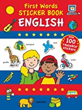 First Words: English (First Words Sticker Books)