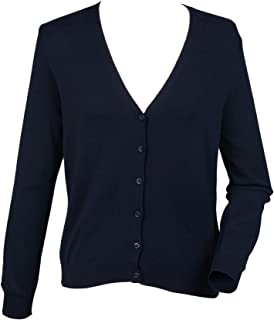 Henbury Womens/Ladies V-Neck Button Up Cardigan