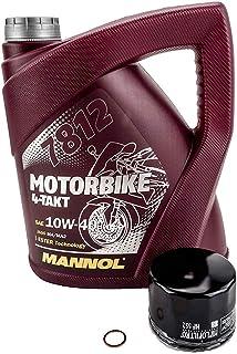 Olie + oliefilter set geschikt voor Moto Guzzi 850 LE MANS I 1976-1982.