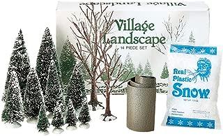 Department 56 Accessories for Villages Landscape Accessory Set