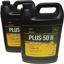 John Deere Original Equipment Plus-50 II SAE 15W-40 Oil - TY26673 (Multi-Pack GALLONS) (2)