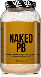 2lbs of 100% Premium Powdered Peanut Butter from US Farms – Bulk, Only Roasted Peanuts, Vegan, No Additives, Preservative ...