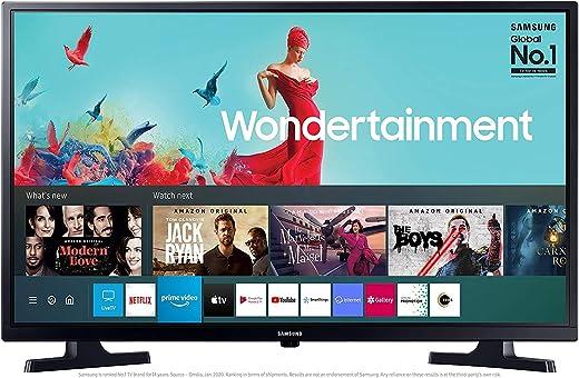 Samsung 80 cm (32 Inches) Wondertainment Series HD Ready LED Smart TV UA32T4340AKXXL (Glossy Black) (2020 Model) 1