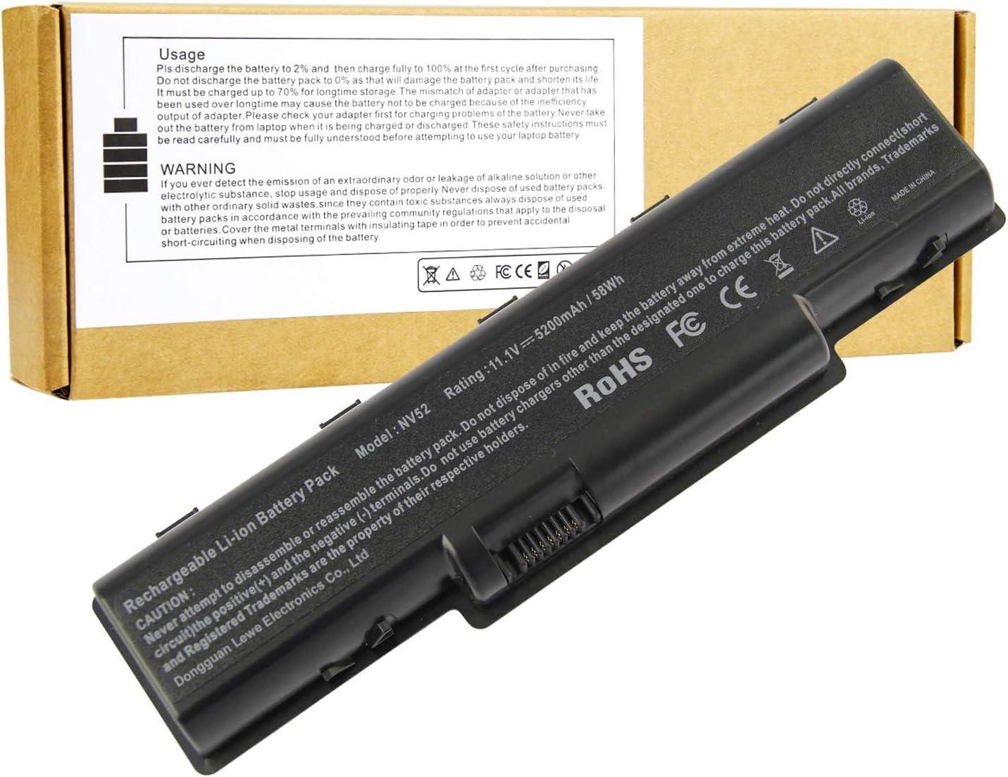 Laptop Battery Max 41% OFF for Gateway Series NV51 NV58 NV56 NV52 ...