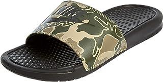 Nike Benassi JDI Print Men s Sandals Velvet Brown 631261-202 (9 D(M 98e42c7a43438