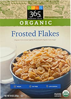 365 Everyday Value, Organic Frosted Flakes, 10 Ounce