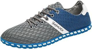 Fhuuly Nouveau Style Hommes de La Mode Casual Maille Confortables Chaussures Plates d'espadrilles Respirantes Tendance Eur...