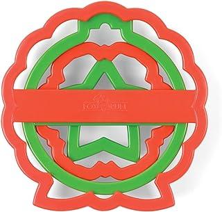 قفازات الكوكيز العش الكريسماس من فوكس رن, Wreath Set
