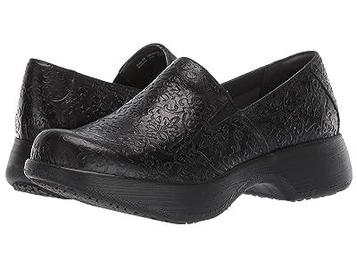 Dansko Winona (Black Tooled Leather) Women
