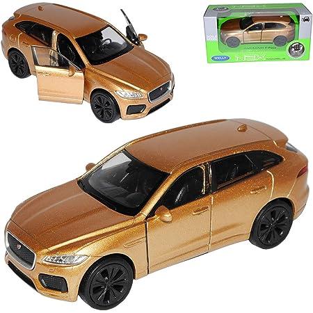 Welly Jaguar F Pace X761 Suv Rot Ab 2016 Ca 1 43 1 36 1 46 Modell Auto Mit Individiuellem Wunschkennzeichen Spielzeug