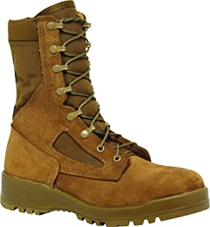Hot Weather Steel Toe Mojave/Olive Green Coyote Combat Boot (551ST)