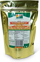 Mother Earth Products Sliced Garlic, 2 Cup Mylar Bag, Net Wt. 7oz, (198g)