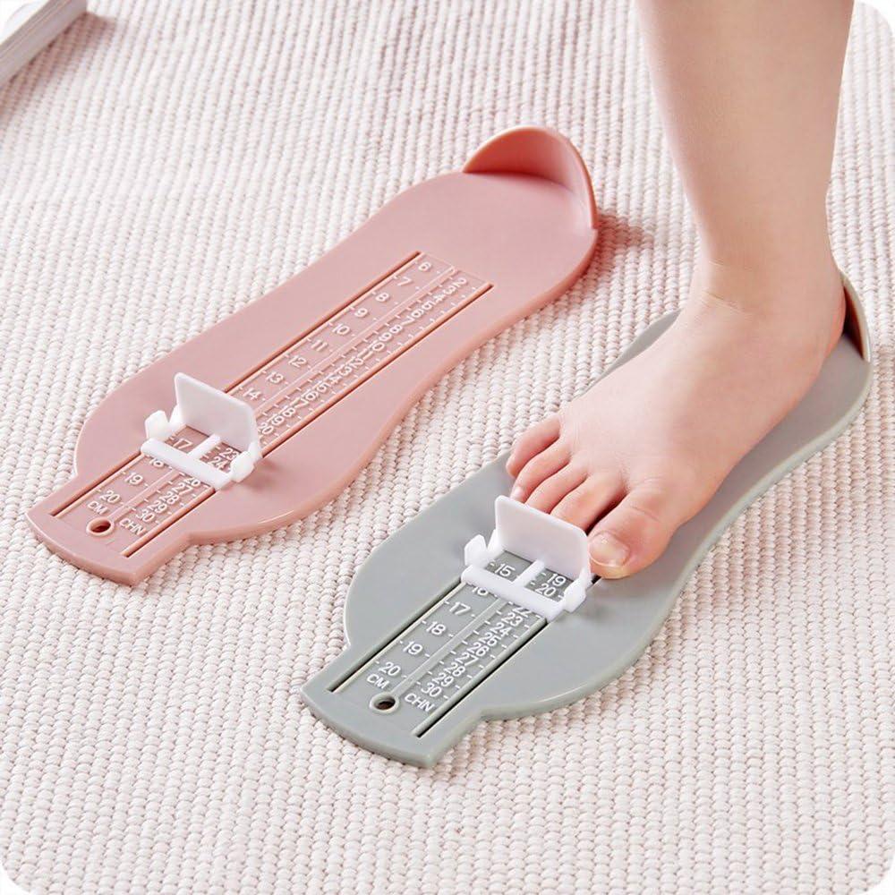 Tout-Petits Outil de Mesure de la Pointure des Chaussures pour Enfants l/égers Convient pour Acheter des Chaussures en Ligne Appareil de Mesure de Pied 1pc pour Enfants