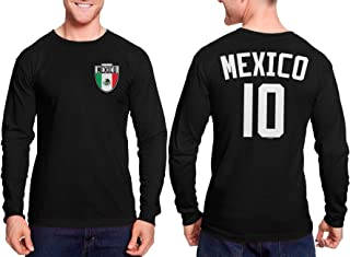 HAASE UNLIMITED Mexico Soccer Jersey - Mexican Unisex Long Sleeve Shirt