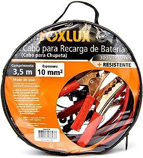 Cabo de Transferência de Cargas Foxlux - Chupeta - Cabo de Transmissão - 3,5m - Bolsa exclusiva para transporte - Espessur...
