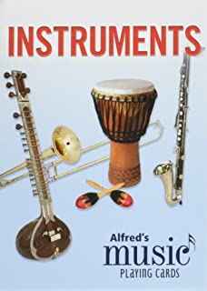Alfred's Music Playing Cards -- Instruments: 1 Pack, Card Deck