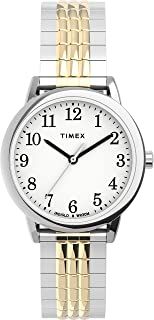 Timex Women's Easy Reader 30mm Perfect Fit Expansion Band Watch TW2U08500