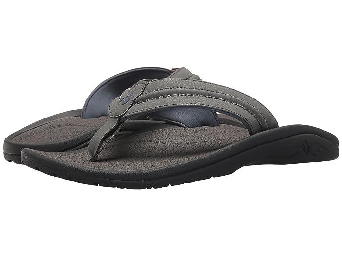 Hokua  Shoes (Charcoal/Charcoal) Men's Sandals