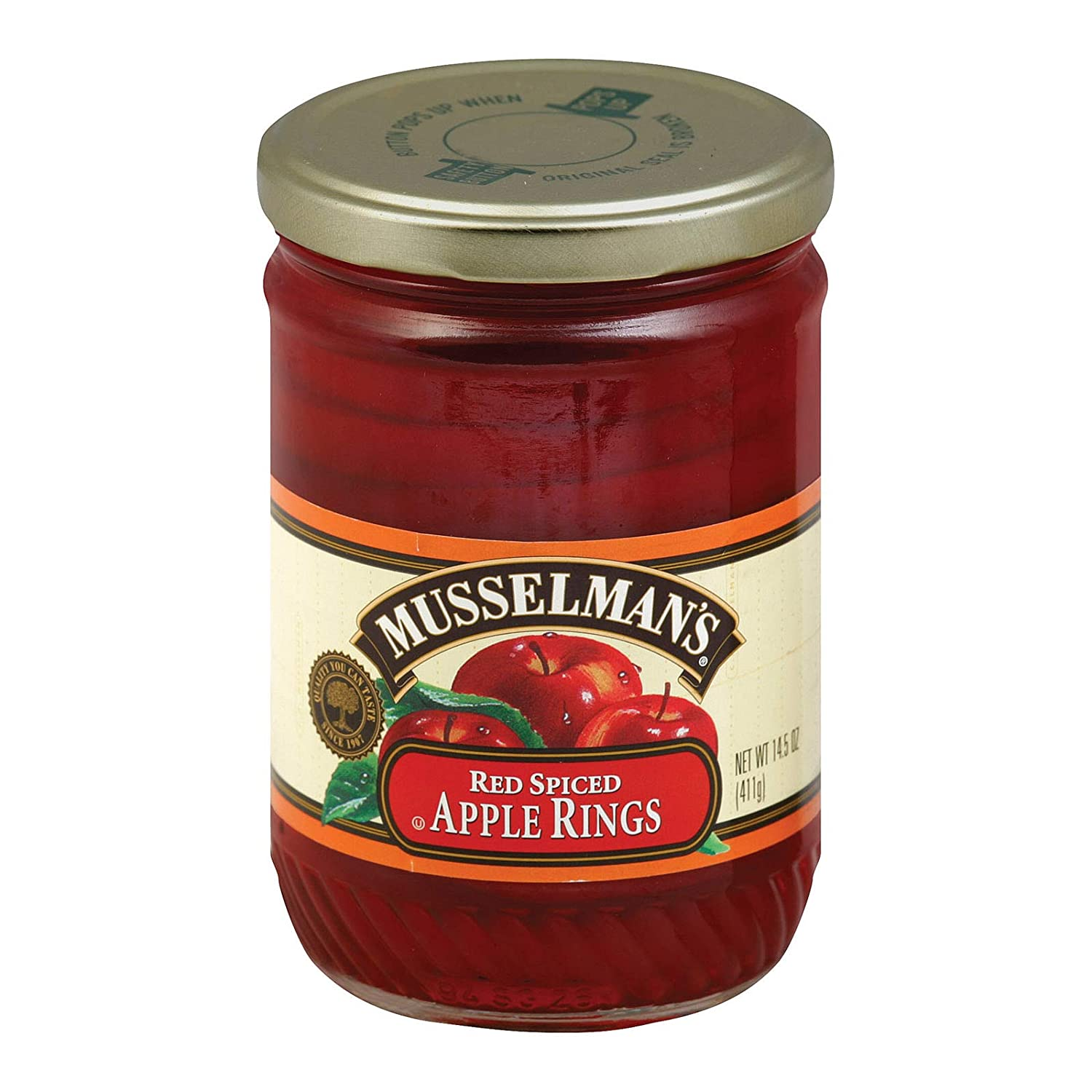 Selling High material and selling Musselman Apple Spiced Rings