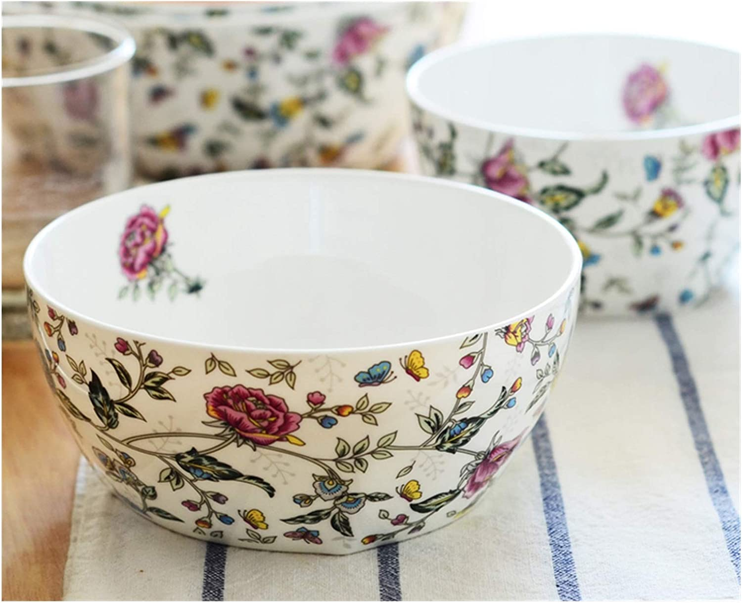 5.5 inch fine bone china floral Overseas parallel import regular item half chinese small bowls bowl rice