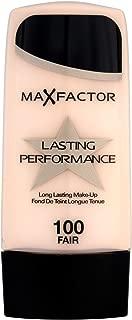 3 x Max Factor Lasting Performance 100 Fair 35ml