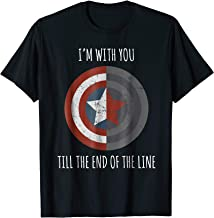 to the end of the line captain america