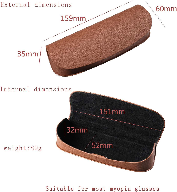 Glasses Case e88 Unisex Retro Literature and Art Portable Pressure-resistant