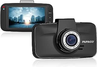 PAPAGO Dash Camera for Cars GoSafe 520 Super HD 2304x1296 Dash Cam - Car DVR Dashboard Camera with Superior Night Vision, Parking Monitor, G-Sensor,3 Screen GS520-US