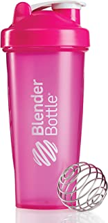 BlenderBottle Classic (Discontinued Style), 600 ml , Pink/Pink
