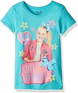 Nickelodeon Little Girls' JoJo Siwa Cute Short Sleeve T-Shirt
