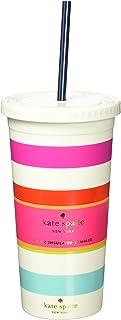 Kate Spade New York Women's Candy Stripe Thermal Tumbler