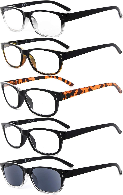 Eyekepper 5-Pack Spring Hinges Recommendation Includes Discount mail order Glasses Vintage Reading
