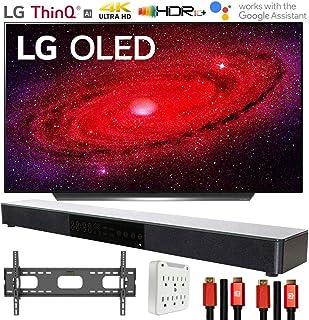 "LG OLED48CXPUB 48"" CX 4K OLED TV AI ThinQ (2020) with Deco Gear Soundbar Bundle"