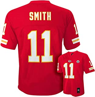Outerstuff Alex Smith Kansas City Chiefs Youth Size Red Mid-tier Jersey (Youth Large 14/16)