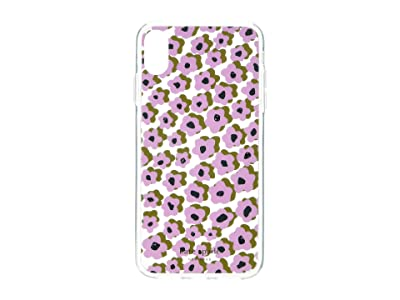 Kate Spade New York Jeweled Flair Flora Phone Case for iPhone XS Max (Orchid Multi) Cell Phone Case