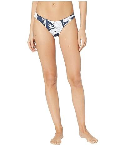 Roxy Print Beach Classics Full High-Leg Bikini Bottoms (Mood Indigo Flying Flowers) Women