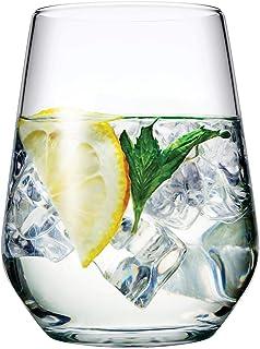 Pasabahce Allegra Juego de 6 vasos para vino, jugo, agua,