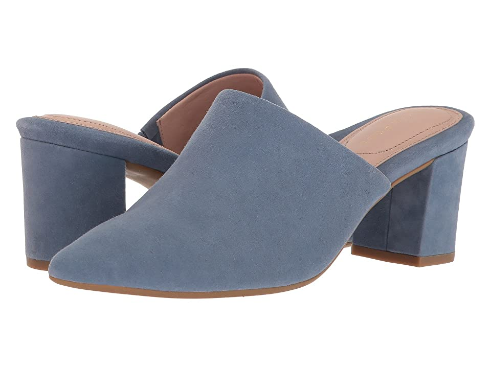 Taryn Rose Madisson (Denim Silky Suede) Women