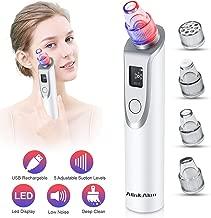Blackhead Remover Vacuum - Pore Cleaner Electric Blackhead Suction Facial Comedo Acne Extractor Tool for Women & Men(02)