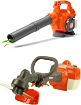 Husqvarna Kids Battery Operated Toy Leaf Blower + Toy Lawn Weed Trimmer w/ Sound