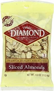 Diamond Sliced Almonds, 4-Ounce
