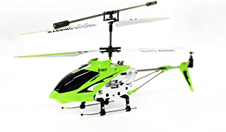 Syma S107 3 Channel RC Helicopter with Gyro, Green